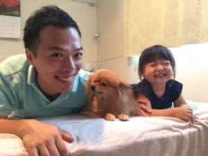 仙台で家族と