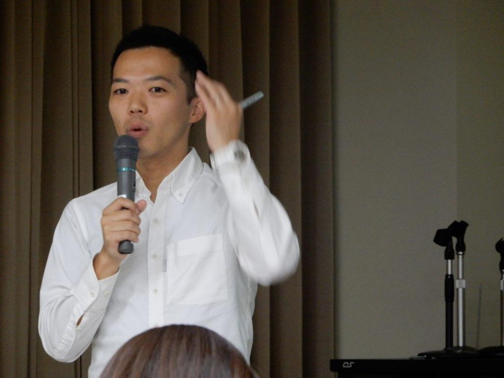 青森県教育委員会での講演2